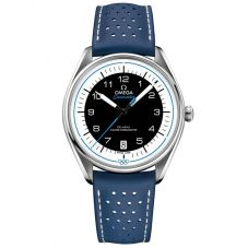 Omega Mens Seamaster Official Olympic Timekeeper Limited Edition Leather Strap Watch 522.32.40.20.01.001