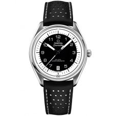 Omega Mens Seamaster Official Olympic Timekeeper Limited Edition Leather Strap Watch 522.32.40.20.01.003