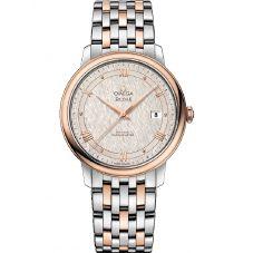 Omega Mens De Ville Prestige Co-Axial Bracelet Watch 424.20.40.20.02.003