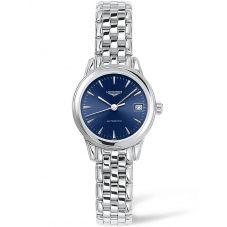 Longines Ladies Flagship Blue Dial Bracelet Watch L42744926
