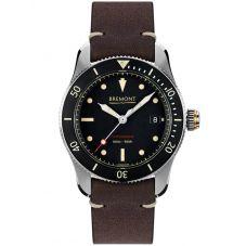 Bremont SUPERMARINE S301 Black Strap Watch S301/BK