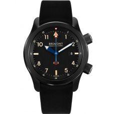 Bremont U-2 Black Jet Pilot Watch U2/51-JET