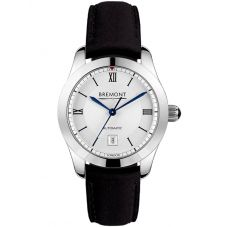 Bremont SOLO-32 LC White Dial Black Strap Watch SOLO-32-LC/WH
