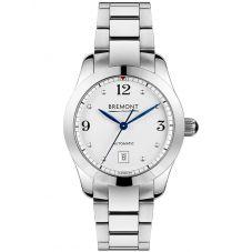 Bremont SOLO-32 AJ White Dial Bracelet Watch SOLO-32-AJ/WH/BR