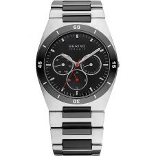 Bering Mens Ceramic Two Colour Bracelet Watch 32341-742
