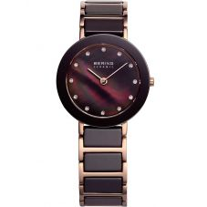 Bering Ladies Two Colour Ceramic Bracelet Watch 11429-765