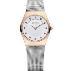 Bering Ladies Classic Two Colour Mesh Bracelet Watch 11927-064