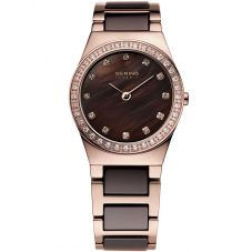 Bering Ladies Two Colour Ceramic Bracelet Watch 32426-765