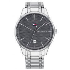 Tommy Hilfiger Damon Grey Dial Stainless Steel Bracelet Watch 1791490