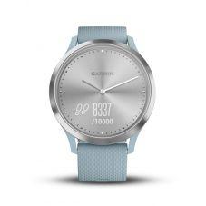 Garmin Vivomove HR Sea Foam Blue Rubber Strap Smartwatch 010-01850-08