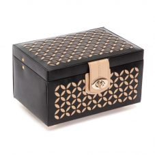 Wolf Chloe Small Black Jewellery Box 301102