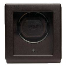 Wolf Cub Brown Watch Winder with Cover 461106