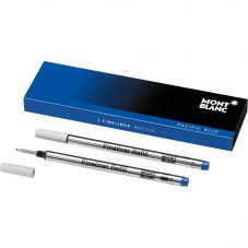 Montblanc 2x Fineliner Refills- Pacific Blue (Broad) 105171
