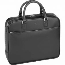 Montblanc Sartorial Small Black Leather Document Case 113184