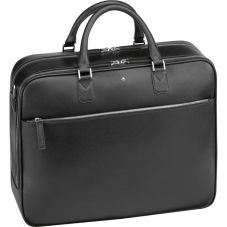 Montblanc Sartorial Large Black Leather Document Case 113180