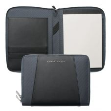 BOSS Keystone A5 Grey Notepad and Pen Conference Folder HTM602H