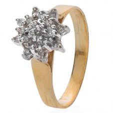 Second Hand Diamond Cluster Ring 4111407
