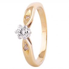Second Hand 0.25ct Diamond Solitaire Ring 4111801