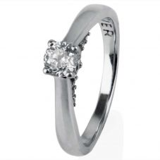 Second Hand Diamond Solitaire Ring 4112097