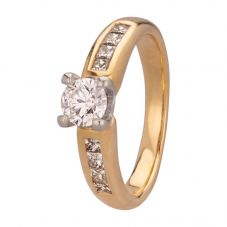 Second Hand 0.65ct Diamond Solitaire Ring 4112577