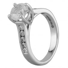 Second Hand 18ct White Gold 1.59ct Diamond Ring I499610(441)