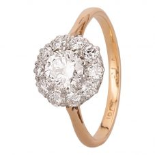 Second Hand 0.95ct Diamond Cluster Ring A511615(442)