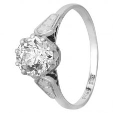 Second Hand 1.50ct Old Cut Diamond Solitaire Ring J511110(443)
