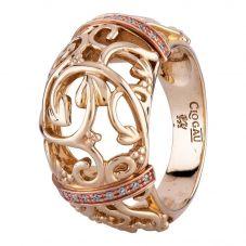 Second Hand Clogau 9ct Gold Am Byth Diamond Ring A511619(444)