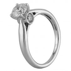 Second Hand 18ct White Gold 1.00ct Diamond Solitaire Ring D516418(446)