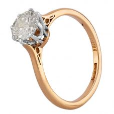Second Hand Yellow Gold 0.75ct Diamond Solitaire Ring G607018(449)