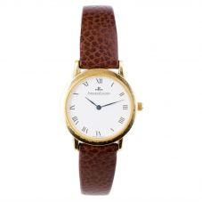 Second Hand Jaeger LeCoultre 18ct Yellow Gold Strap Watch 4410050