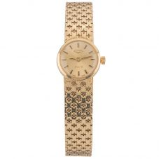 Second Hand Rotary 9ct Yellow Gold Mechanical Watch 4410071