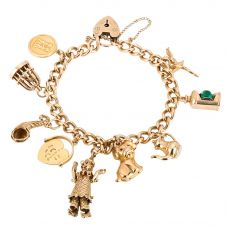 Second Hand Traditional Charm Bracelet 4123840