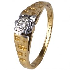 Second Hand Diamond Solitiare Ring 4145653
