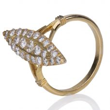 Second Hand Marquise Shaped Diamond Cluster Ring 4148633
