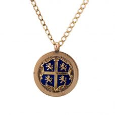 Second Hand 9ct Yellow Gold 1913 Cricket Medal Necklace 4156818