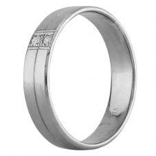 Second Hand Palladium Diamond Wedding Ring F606042(447)