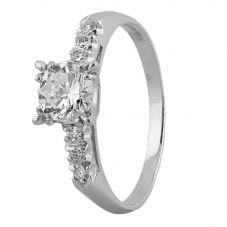 Second Hand Platinum 0.90ct Diamond Single Stone Ring 4312578