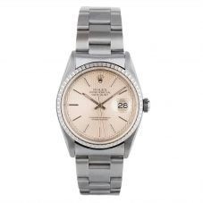Rolex Mens Oyster Perpetual Datejust Watch 16220 - Year 2000
