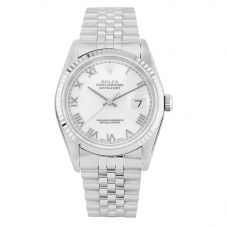 Rolex Mens Oyster Perpetual Datejust Watch 16234 - Year 2000