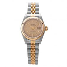 Second Hand Rolex Ladies Oyster Perpetual Datejust Watch 69173(11993) - Year 1984