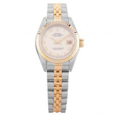 Second Hand Rolex Ladies Oyster Perpetual Datejust Watch 69173(12133) - Year 1994