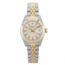Second Hand Rolex Ladies Oyster Perpetual Date Watch 69173(11632) - Year 1985