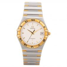 Second Hand Omega Constellation Two Tone Watch Bracelet 396.1201