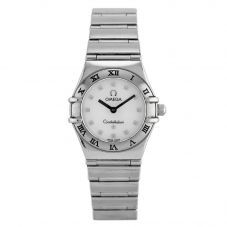 Second Hand Omega Constellation My Choice Mini White Bracelet Watch 1561.71.00