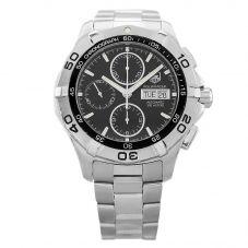 Second Hand TAG Heuer Aquaracer Black Bracelet Watch CAF2010.BA0821