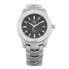 Second Hand TAG Heuer Link Black Bracelet Watch WJ1110.BA0570