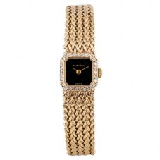 Second Hand Bueche Girod 9ct Yellow Gold Bracelet Watch 4410086