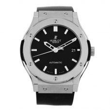 Second Hand Hublot Black Rubber Strap Watch M325256(445)