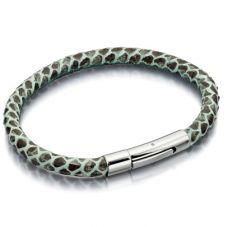 Fiorelli Costume Green Snake Skin Bracelet B4255
